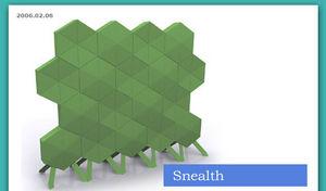 SMANSK - snealth - Parete Divisoria Amovibile