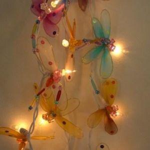 atoutdeco.com - guirlande lumineuse libellules - Ghirlanda Bambini