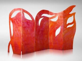 Genevieve Bonieux - les flammes de l'amour 1 & 2 - Paravento Separ�