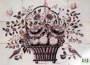 Piet Jonker -  - Pannello Di Ceramica