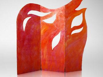 Genevieve Bonieux - les flammes de l'amour 1 - Paravento Separ�
