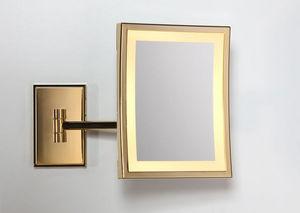 Miroir Brot - square lm-bs - Specchio Ingranditore Da Bagno