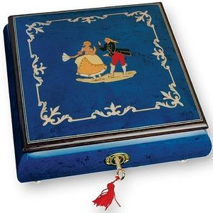 Ayousbox - boîte à musique orlina - modèle exclusif (danseurs - Carillon