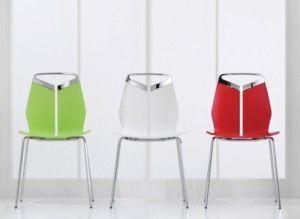 Bucon - 07 - four legged chair - pledge - Sedia Ufficio