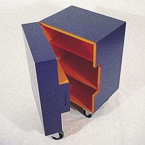 Helen Allen - cube unit - Cassettiera A Rotelle