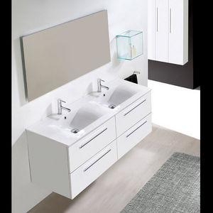 ... . Mobili bagno economici Arredo bagno Cesena 70 con doppio lavabo