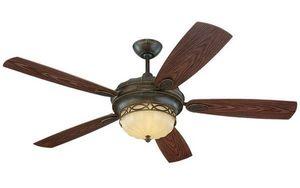 Monte Carlo Fans Company - 56 edwardian outdoor fan - Ventilatore Da Soffitto