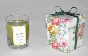 Demeure et Jardin - bougie photophore senteur lavande - Candela Profumata