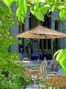 GARDENART - girasole lusso - Ombrellone Con Braccio Laterale