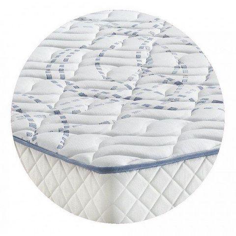 WHITE LABEL - Materasso a molle-WHITE LABEL-Matelas MEKY MERINOS longueur couchage 190cm épais