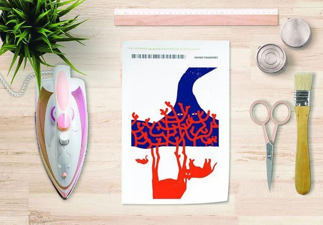 la Magie dans l'Image - Trasferibile-la Magie dans l'Image-Papier transfert Le Fleuve Rouge