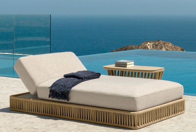 ITALY DREAM DESIGN - Lettino prendisole-ITALY DREAM DESIGN-Reef
