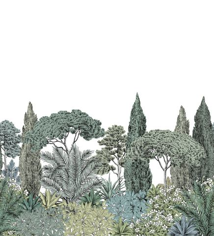 ISIDORE LEROY - Carta da parati-ISIDORE LEROY-Riviera Naturel